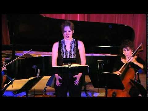 Schoenberg, Pierrot Lunaire (Op. 21, 1912) Movements I-VII [Monadnock Music Festival 2010]