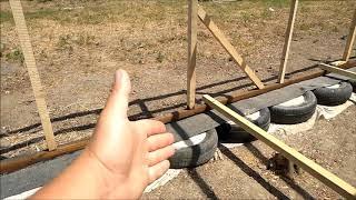 Деревянный каркас для сарая/ Стройка-ремонт