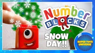 NUMBERBLOCKS have a snow day!!!
