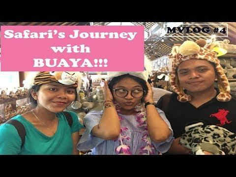 Bali Safari Journey ala Anak Kos - MVlog #4