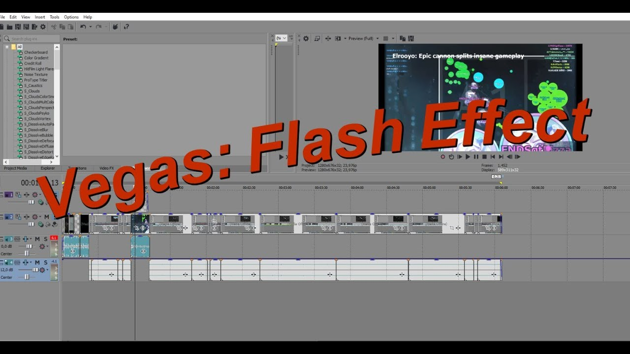 Vegas | Flash Effect