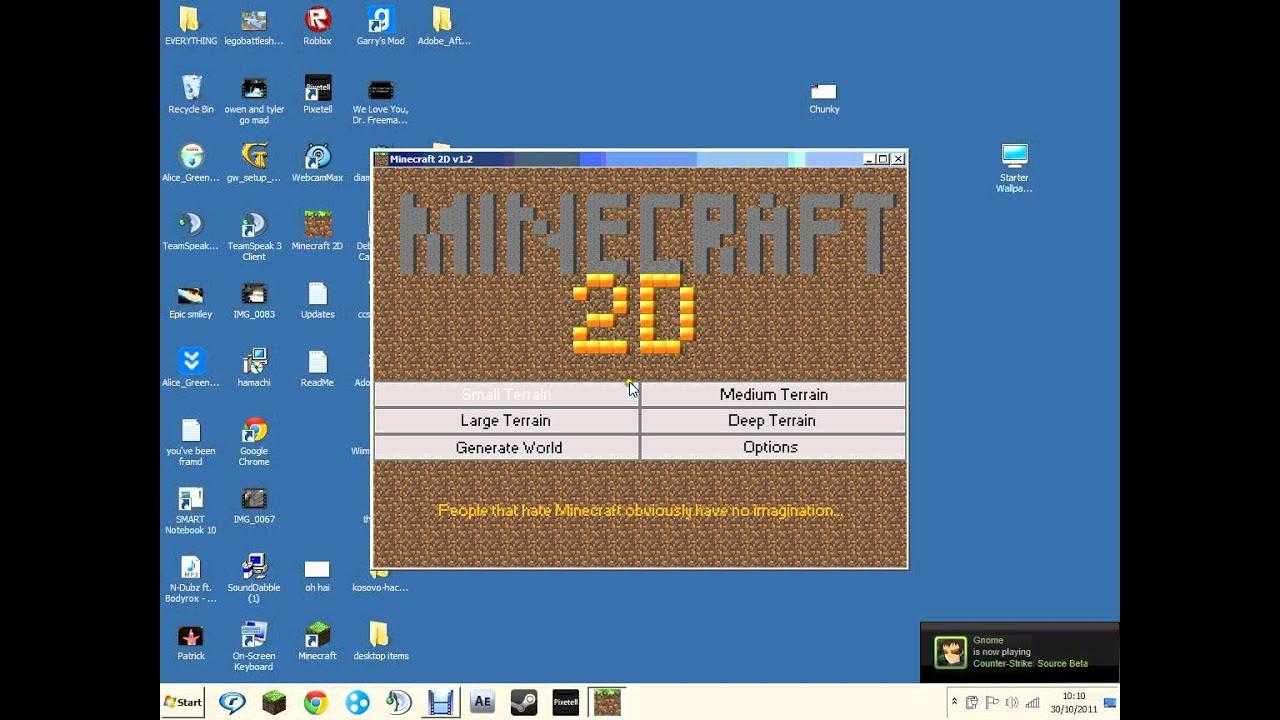 Скачать майнкрафт 2 д на компьютер