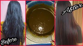 Hena Mask, Super Silky Glossy Hair In Just 1 Day|Deep Conditioner |बालो को खूबसूरत रंग दे