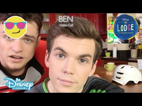 The Lodge | Video Call 9: Noah Calls Ben & Sean | Official Disney Channel UK