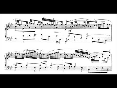 J S Bach Partita 1 in B Flat Major, BWV 825  Prelude