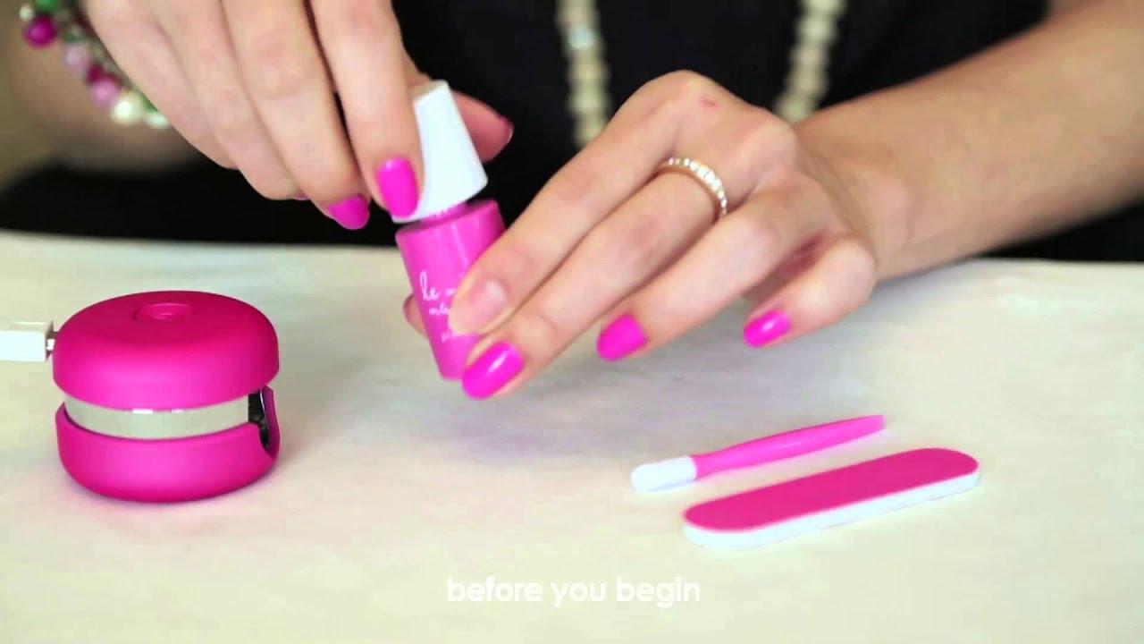 Le Mini Macaron - Gel Manicure Kit - Our Kickstarter Campaign - YouTube