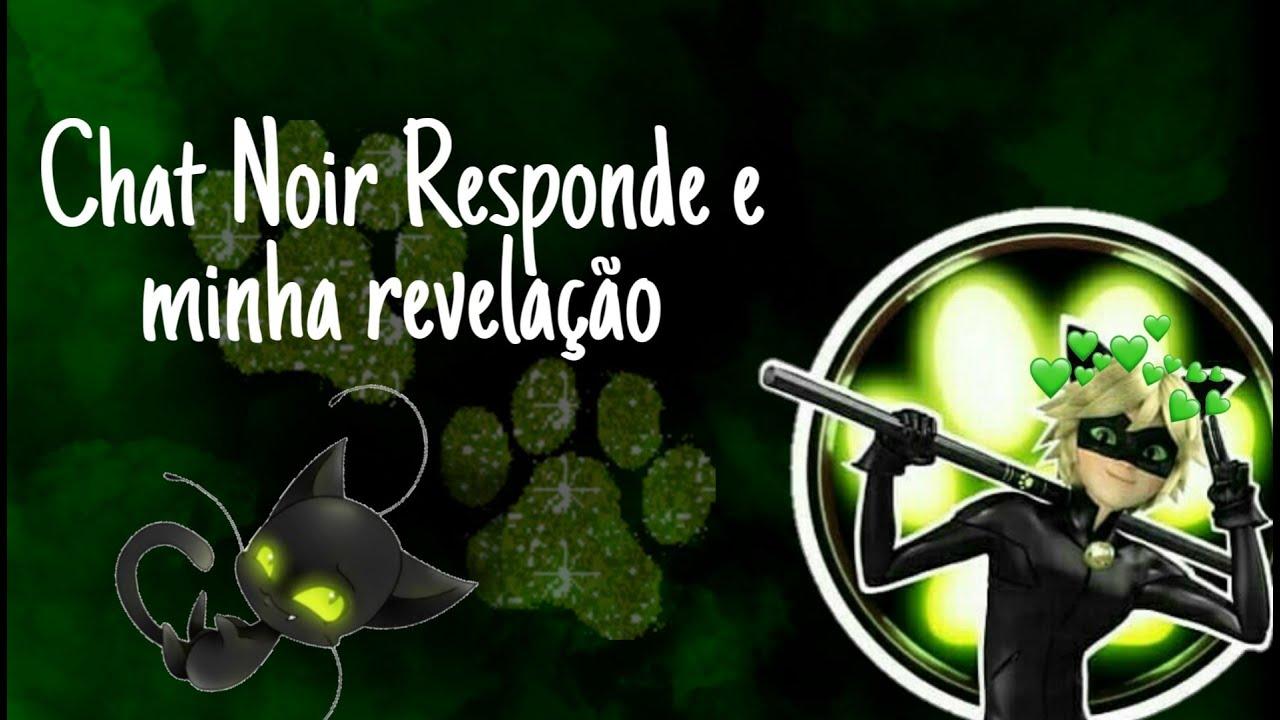 Chat Noir Responde (explicando sobre o canal + minha verdadeira voz)