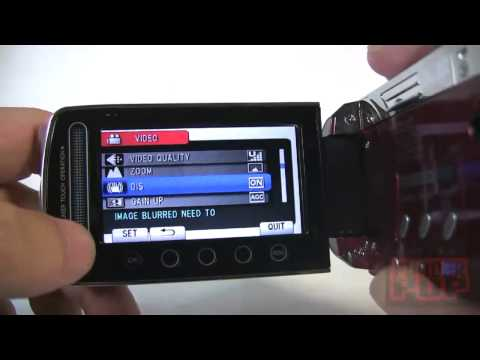 YouTuber's Gear review; JVC GZ-MS120 Video Camera