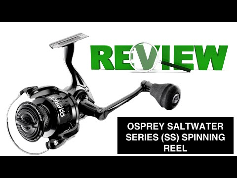 Osprey 4000 Saltwater Series Spinning Reel By Florida Fishing Products- FFP, 10 Month REVIEW!!!