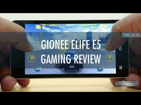 Gionee Elife E5 Gaming Review