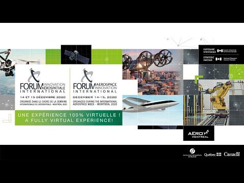 #SIAMTL2020   Forum innovation aérospatiale international 2020