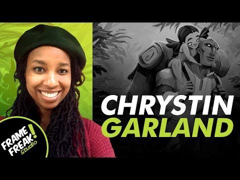 INTERVIEW W/ CHRYSTIN GARLAND: Visual Development  - The Creative Hustlers Show #58