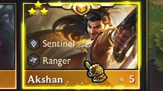 3 Star Akshan ⭐⭐⭐ TFT Set 5.5