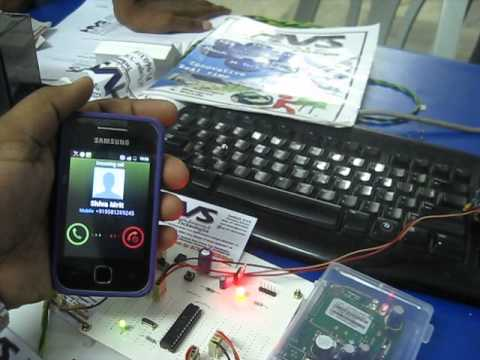 Electronics project home security system