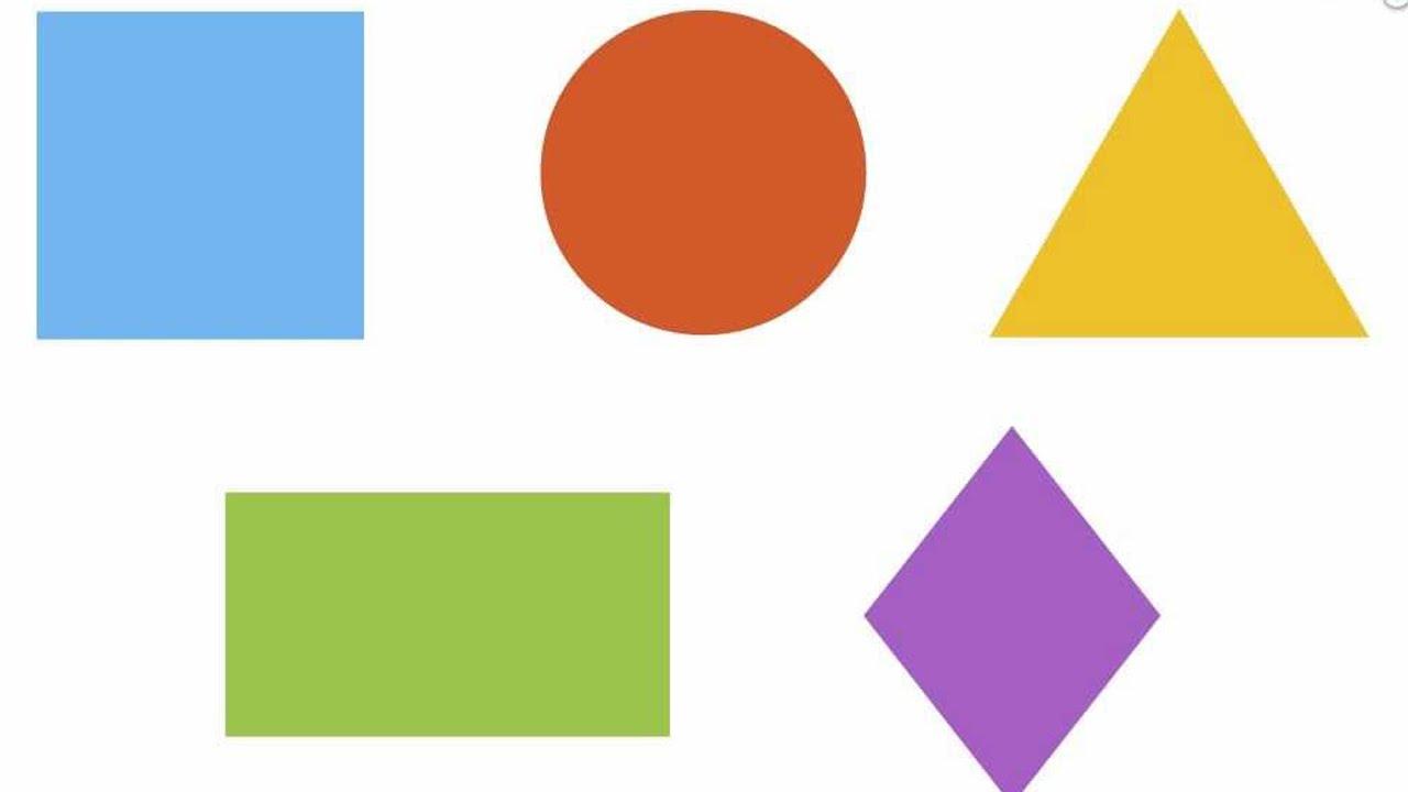 Las Figuras Geométricas En Español Videos Educativos Para Niños