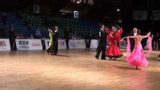 WDSF WORLD U21 Ten Dance Open Championship 14 final.