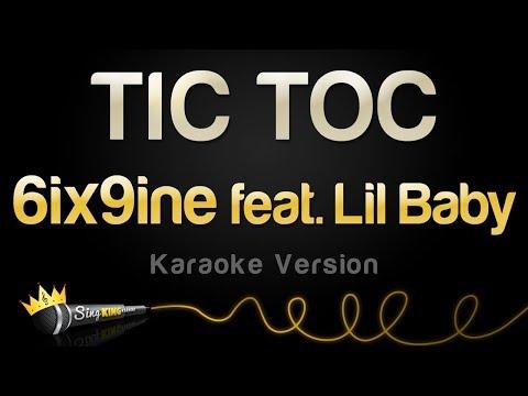 6ix9ine feat. Lil Baby - TIC TOC (Karaoke Version)