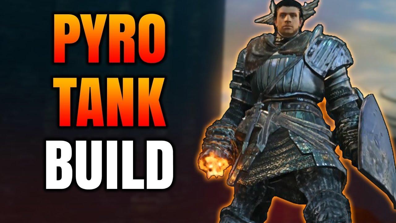 Dark Souls Remastered - Pyromancer Tank Build (PvP/PvE