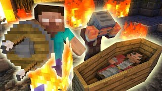 Monster School : Herobrine's Life and Death ( The saddest story ever ) - Minecraft Animation