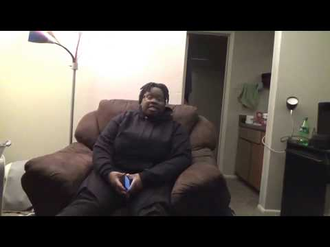 Me singing I Will Trust by Fred Hammond.