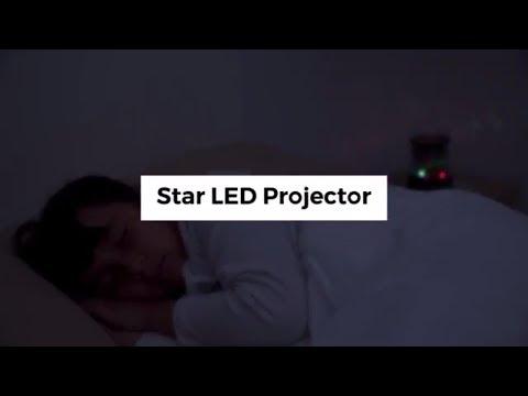 InnovaGoods Proyector LED de Estrellas