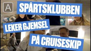 Spårtsklubben leker gjemsel på cruiseskip