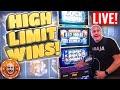 HIGH LIMIT 🎰 Mega Jackpot Live Play! HUGE WIN$ | The Big Jackpot