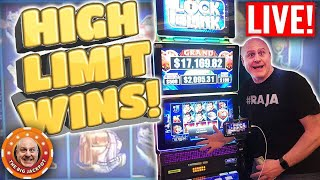 HIGH LIMIT 🎰 Mega Jackpot Live Play! HUGE WIN$ | The Big Jackpot thumbnail