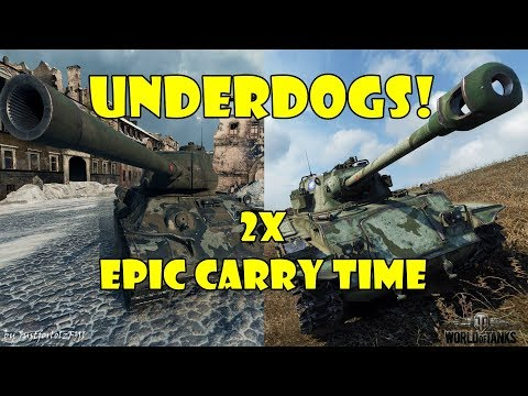 World of Tanks - PURE Gameplay [Type 64 & T-34-85M EPIC DOUBLE CARRY]