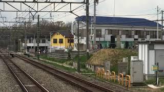 西武6000系6116F準急池袋行き秋津駅到着