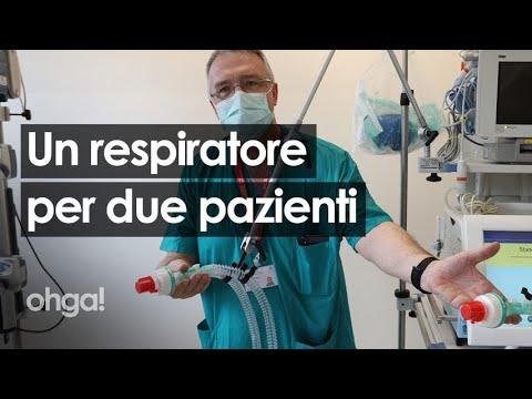 Coronavirus: respiratori artificiali, la chiave di volta della risposta medica