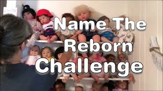 Mariah And Mema (Battle??) In Name The Reborn Baby Challenge!