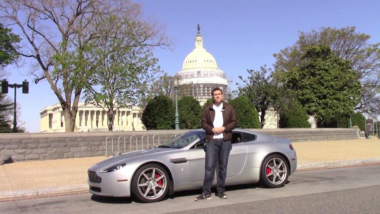 Aston Martin Tour Of Washington D C Youtube
