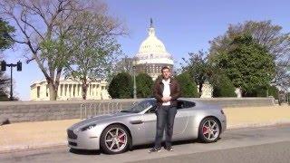 Aston Martin Tour of Washington, D.C.