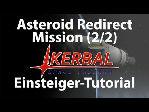 KSP Asteroid Redirect Mission Tutorial Deutsch (2/2)