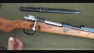 k98 mauser german wwii rifle