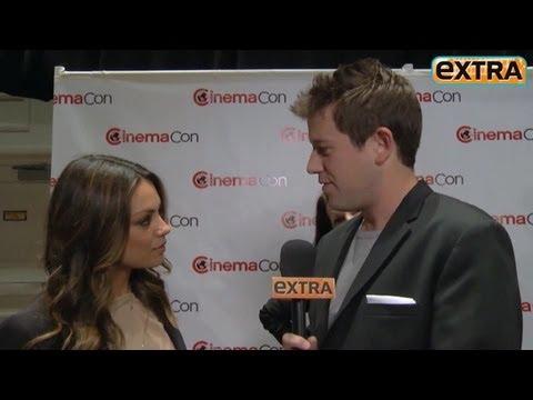 Mila Kunis On Rumors She's Dating Ashton Kutcher: 'It's Absurd!'