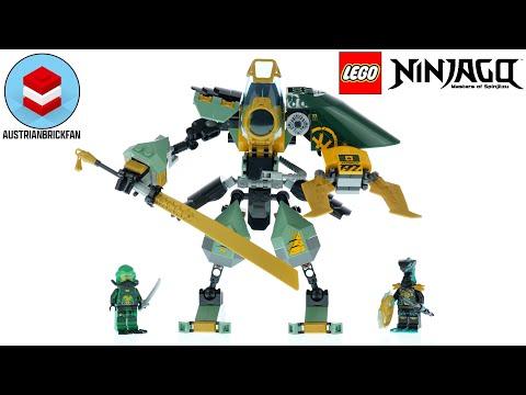 LEGO Ninjago 71750 Lloyd's Hydro Mech - LEGO Speed Build Review