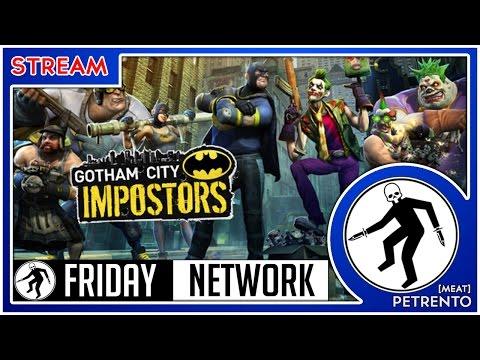 Gotham City Impostors Free to Play Friday Netwok Стрим