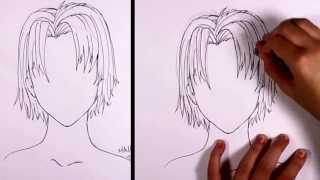 How to Draw Manga  - Boy Hair   MLT