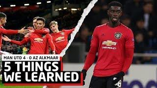 Game Changer!   5 Things We Learned   Manchester United 4-0 AZ Alkmaar