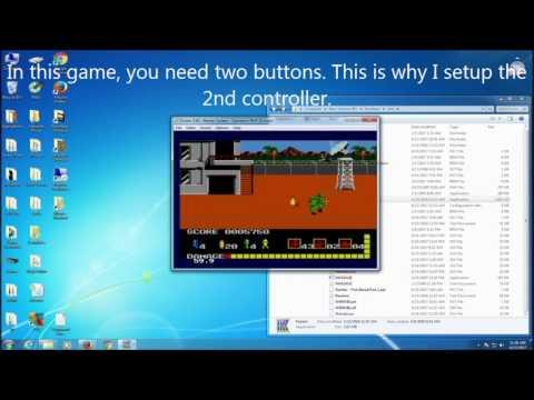 Kega Fusion How to Enable Lightgun Mouse - YouTube