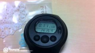 積算線量計PM1604A パソコンで被ばく量を管理できる