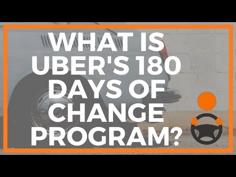 What is Uber's 180 Days of Change Program?