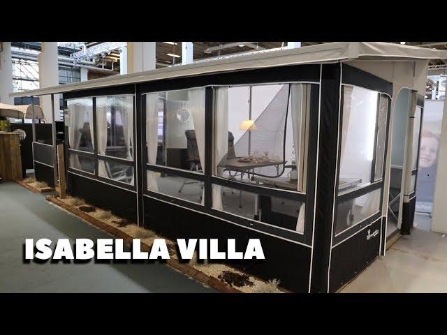 Isabella Villa - drømmeteltet for fastliggere og helårscampister