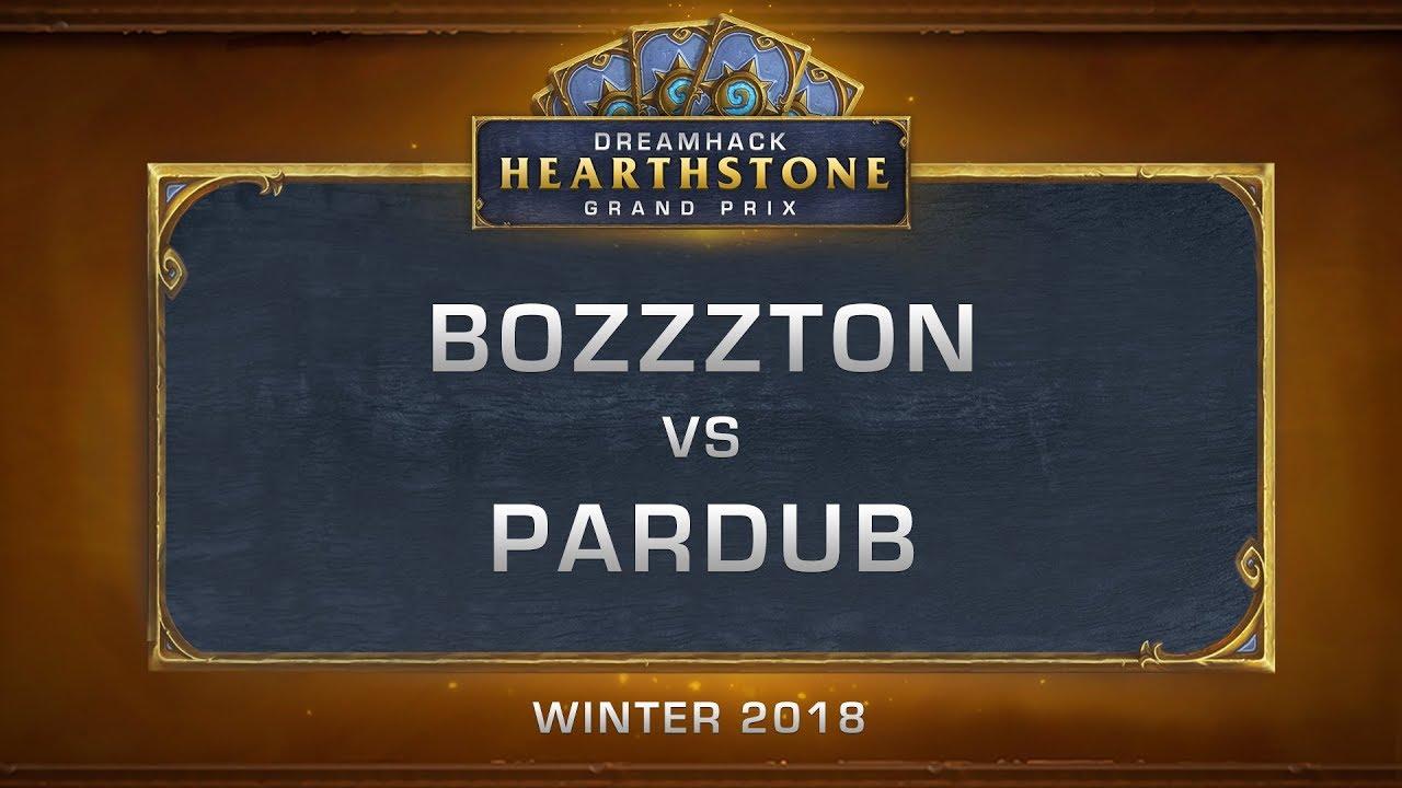 Bozzzton vs Pardub - Top 4 - DreamHack HCT Grand Prix Winter 2018