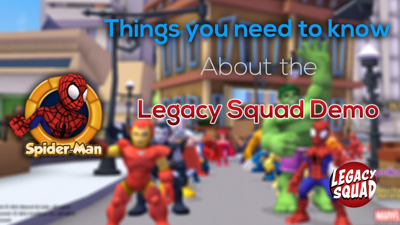 Legacy Squad Demo!- Everything You Need To Know!