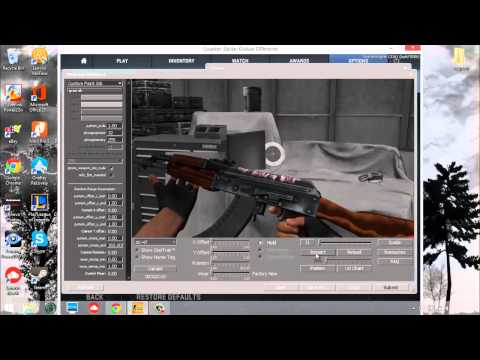 How To Make a Custom Weapon Skin and Publish for CSGO!
