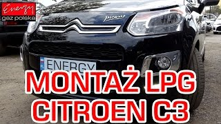 Montaż LPG do Citroena C3 Picasso 1.4 2014r -  BRC Sequent 24.11