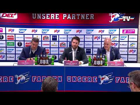 PK: Adler Mannheim - Straubing Tigers